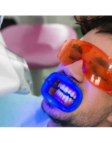 Whitening in dental armchair