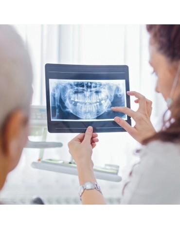 Set of dental x-rays