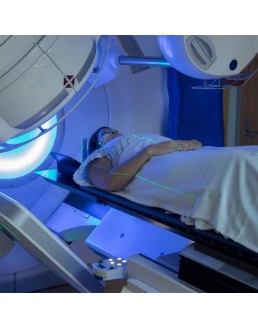 Volumetric radiotherapy (VMAT)
