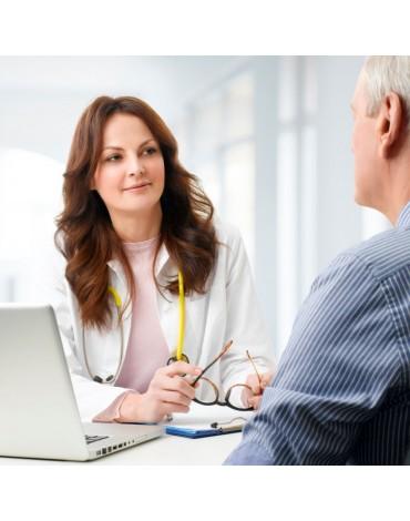 Consultation by arterial hypertension